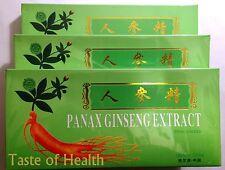 3x Red Panax Ginseng Extract Oral Liquid 10 Vials Feng or Harbin Sanjing Ekong