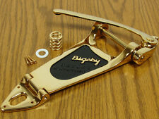 NEW Bigsby USA B6 Vibrato Tailpiece Gold for Large Arch Top Guitar American