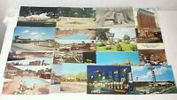 Lot of 20 Vintage Retro Motel Lodge Hotel Inn Postcards 3.5'' x 5.5'' 60's 70's