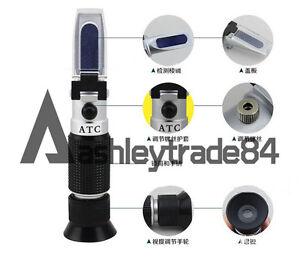 0-28% Salinity Refractometer Salt Tester Sea Water Tester ATC
