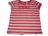 Edc by Esprit tolles T-Shirt Gr. 140 / 146 grau-rosa gestreift !!