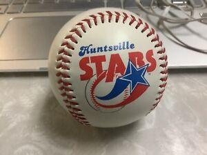 HUNTSVILLE STARS LOGO BASEBALL NEW NO ADVERTISEMENT