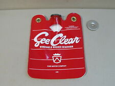 "NEW 54-59 FORD CAR & 57-60 TRUCK ""SEE CLEAR"" WINDSHIELD WASHER BAG & LID"