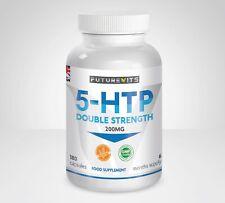 5-HTP 200mg 5HTP 180 Capsules Bottle 5 HTP Natural Serotonin Futurevits Made UK