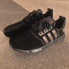 6be87e5d8af adidas ORIGINALS NMD R1 Men s Training Running Shoes Black Red Sz 10