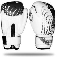 Velo Guantoni Da Boxe MMA Lotta adulto SPARRING CUSCINETTI PUNCH BORSA CALCIO ALLENAMENTO