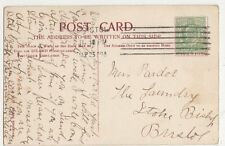 Miss Pardoe, The Laundry, Stoke Bishop, Bristol 1909 Postcard, B276