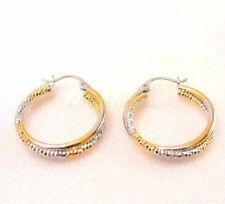 Yellow Gold Plated Clip - On Fashion Earrings