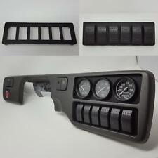 Radio Rocker Switch Plate :: 92-95 Honda Civic (all) race toggle panel trim eg6