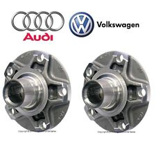 For Audi A6 A8 Quattro RS4 VW Passat W8 Pair Set of Rear Left & Right Wheel Hubs