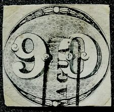 Bientôt NOËL - 1843 N°2&3 BRESIL  60R (avec certificat)  & 90R  Noir  **