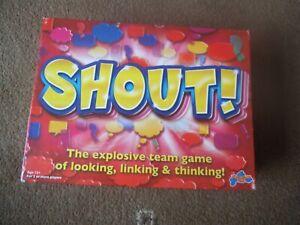 Drumond Park SHOUT !  Age 12+ COMPLETE