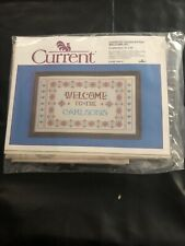 NEW Current DMC WELCOME KIT Counted Cross Stitch #7060-2 Embroidery Floss