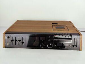 Hanimex HRC-5070 Tape Cassette Player FM tuner Amplifier Vintage Film Prop