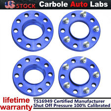 2pack Red 5x120 Staggered Wheel Spacers Kit (2) 20mm With Extended Bolts for BMW