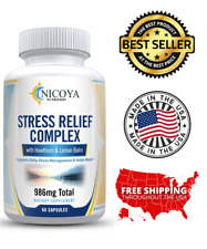 All Natural Anti Anxiety & Stress Relief Supplement Complex