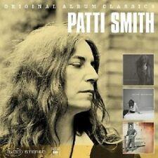 PATTI SMITH-ORIGINAL ALBUM CLASSICS (GONE AGAIN,PEACE,NOISE & GUNG HO) 3 CD NEU
