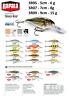 Rapala Shad Rap® Diving Lip Fishing Lure 5cm - 9cm  6g - 15g Various Colours