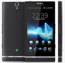 "Unlocked 4.3"" Sony Ericsson Xperia SL LT26ii 32GB 12.0MP Android Black Cellphone"