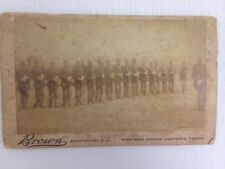 RARE 1890 Vintage Photo Asheville, Western North Carolina Views, NC Military Men