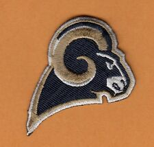 """ST LOUIS RAMS LOS ANGELES SMALL 2 1/4"""" PATCH HAT SHIRT BABY ITEM BAGS IRON ON"""