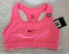 ff745e4abb206 NEW Nike Dri-Fit Sports Bra Size XS Medium Support Racerback Bright Pink