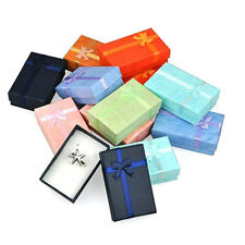 12x Jewelry Finding Gift Paper Boxes For Ring Earring Necklace Bracelet Box FD8