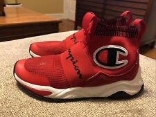 Youth Champion Rally Pro Sneakers Red Black Size 5 US 37.5 EU