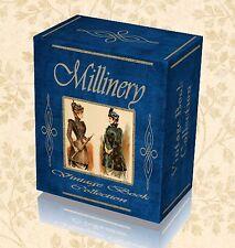 80 Rare Millinery Books DVD Hat Making Learn Trim Ladies Mens Design History 249
