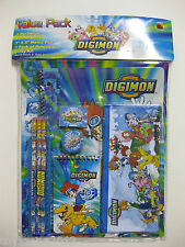 DMSK-9601 Digimon 11 pieces Value Pack Study Kit BRAND NEW!!!