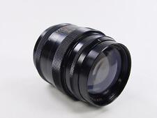 Exc++ ! Black Rangefinder 85mm f/2 lens JUPITER-9 Zorki Leica M39 s/n 7308042.