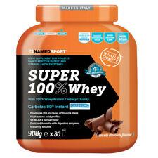 NAMED SUPER 100% WHEY PROTEIN SMOOTH gusto CIOCCOLATO formato 908g