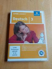 Alfons Lernwelt Lernsoftware Deutsch 3. DVR-ROM von Ute Flierl (2009, DVD-ROM)