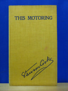 THIS MOTORING by Stenson Cooke HB BOOK Romantic Story of Automobile Association