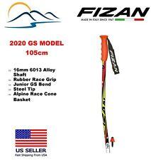 2020 FIZAN Downhill Aluminum Ski Poles - Junior Race GS 105cm