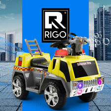 Rigo Kids Ride On Car Motorcycle Toys Cars Electric Fire Engine Motorbike