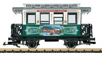 "LGB Christmas Car for 2018 w/Metal Wheels 36018 ""G Scale"""