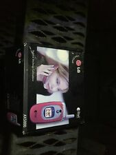 Alltel Lg Flip Phone Red Ax5000 with Box and Manual - No Charger