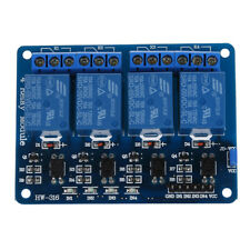 5V 4-Canal Modulo rele Shield for Arduino ARM PIC AVR DSP Electronic D5H4