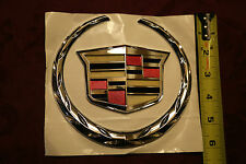 Cadillac CTS Large Hood grille Emblem 2008, 2009, 2010, 2011, 2012, 2013