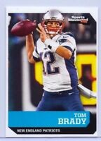 TOM BRADY 2016 SPORTS ILLUSTRATED CARD #608! PATRIOTS 6X SUPER BOWL CHAMPION!