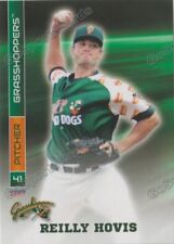 2017 Greensboro Grasshoppers Reilly Hovis RC Rookie Miami Marlins