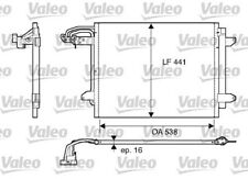 1 Condenseur, climatisation VALEO 817806 convient à VW