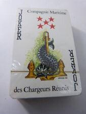jeu de cartes compagnie maritime des chargeur réunis (cpnb1)