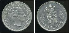 DANEMARK  5 krone 1977