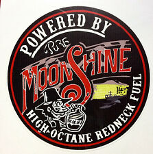 RAT ROD HOT ROD STREET ROD  DECAL STICKER      CHOPPER  BOBBER MOON SHINE