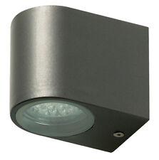 APPLIQUE LAMPADA A LED DA PARETE PER ESTERNO IN ACCIAIO INOX ELEGANTE 21 LED
