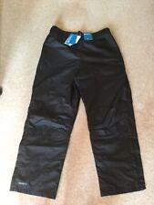 Mens Black Waterproof Trousers Size L