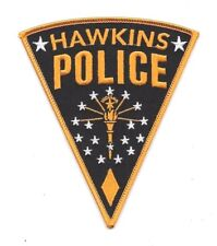 Stranger Things TV Series Hawkins Police Logo/Jim Hopper Embroidered Patch 5""