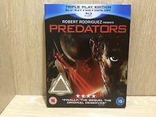 Predators Blu Ray New & Sealed Triple play